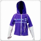 long-sleeve-children-lycra-rash-guard-front-zipper-hat-rwd076